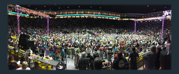 Gathering of nations POW WOW (パウワウ)